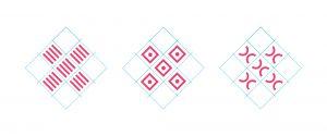 Grafische Detailansicht Bildungsakademie Logos Aufbau