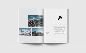 Innendoppelseite Eventmagazin mit Stimmungsbildern