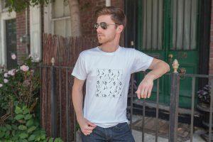 T-Shirt für Männer mit Musterdruck