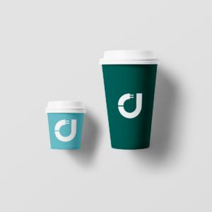 Kaffeebecher mit Keyvisual