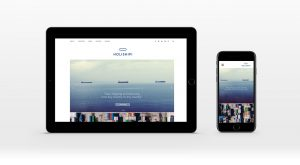 Holiship Website + mobile Ansicht