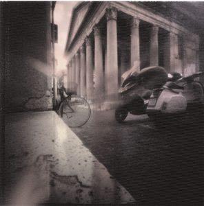 Einhole-Camera Aufnahme aus Rom