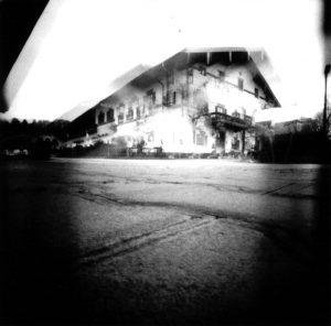 Einhole-Camera Aufnahme am Chiemsee