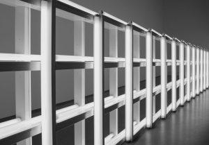 Lichtexponat in der Pinakothek der Moderne