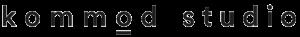 Logo kommodstudio positiv