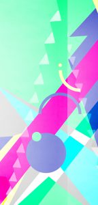 Illustration geometric colors 4