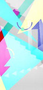 Illustration geometric colors 3