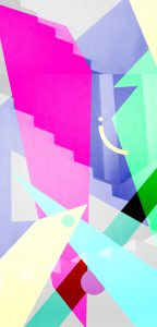 Illustration geometric colors 2