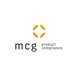 Logo der MCG product compliance