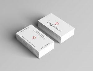 Visitenkarten MCG Personaldienstleistungen