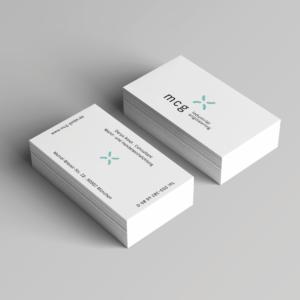 Mockup Visitenkarten Unternehmensberatung